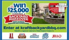 Sweepstakes: Win a Backyard Makeover by Kraft