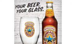 Free Newcastle Brown Ale Glass