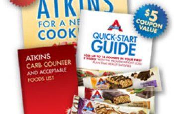 Free Atkins' Quick Starter Kit Pack