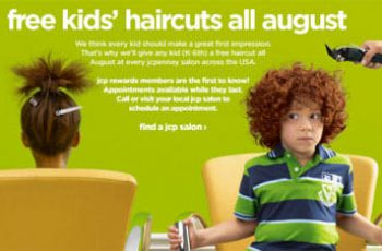 Free Haircut for Your Child