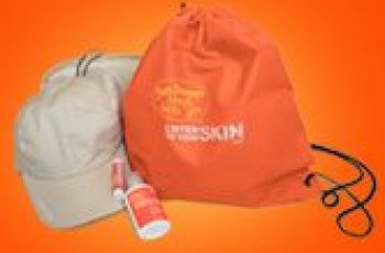 Free Sun Care Kit with Bag, Hat, & More
