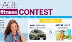 Sweepstakes: 2012 Face of Fitness