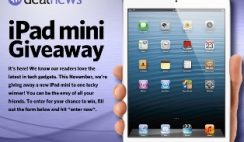 Sweepstakes: iPad Mini from DealNews.com