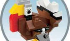 Free LEGO Turkey Mini Model