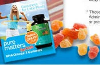 Free Pure Matters' DHA Omega-3 Children's Gummies Sample