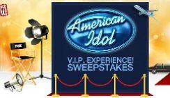 American Idol VIP Experience Sweepstakes