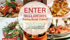 Sweepstakes: Bella Sun Luci's Holiday Recipe Contest