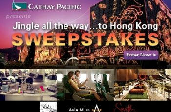 Cathay Pacific's Winter Sweepstakes