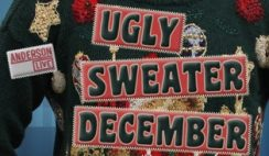 Sweepstakes: Anderson Live's Ugly Holiday Sweater December Contest