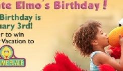 Earth's Best's Celebrate Elmo's Birthday Sweepstakes
