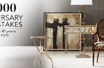 Ethan Allen's $10,000 Anniversary Sweepstakes