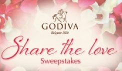 Godiva's Share the Love Sweepstakes