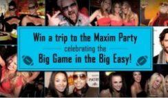 Maxim's 2013 Big Game Sweepstakes