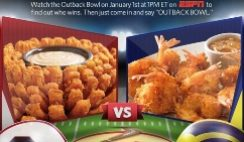 Free Aussie-Tizer from Outback Steakhouse on January 2, 2013