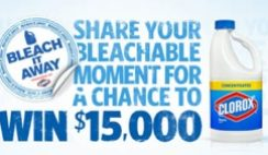 Clorox's Bleachable Moments Contest