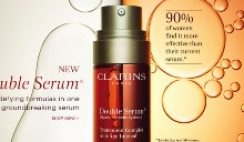 Free Clarins' Double Serum Sample