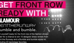 Glamour's Front Row Ready Sweepstakes