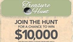 Kirkland's Treasure Hunt Sweepstakes