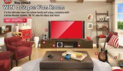 Orville Redenbacher's Super Fan Room Sweepstakes