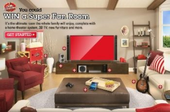 Orville Redenbacher's Super Fan Room Sweepstakes