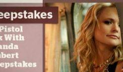 CMT's Get Pistol Pink with Miranda Lambert Sweepstakes