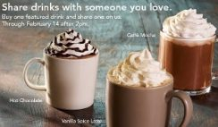Buy One Get One Free Starbucks Drink