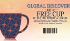 Free Teavana Cup of Tea Coupon