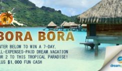 DreamPlanGo's Bora Bora Trip of a Lifetime Sweepstakes