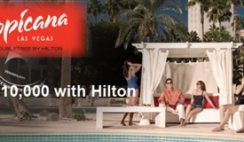Hilton HHonors' Tropicana Las Vegas Million Points Giveaway