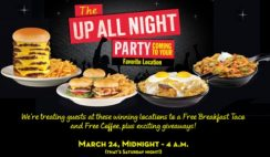 Free Breakfast Taco and Coffee from Steak 'n Shake