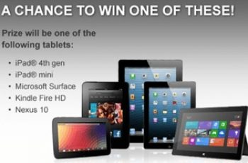 Zagg's March Tablet a Day Giveaway Sweepstakes