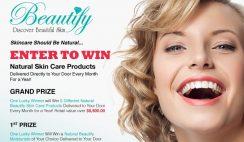 Spa Week's Beautify Natural Skincare Giveaway
