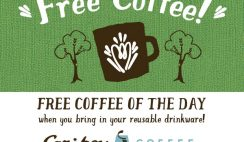 Free Coffee from Caribou Coffee Coupon