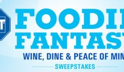 Food Network's Foodie Fantasy Wine, Dine, and Peace of Mind Sweepstakes