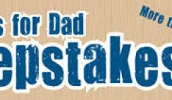 Popular Woodworking's 30 Days for Dad Sweepstakes
