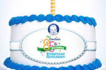Gerber's 85th Birthday Everyday Giveaway Sweepstakes