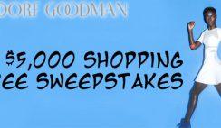 Bergdorf Goodman's $5,000 Shopping Spree