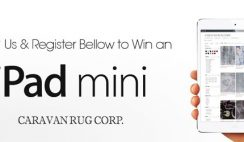Caravan Rug's Win an iPad Sweepstakes