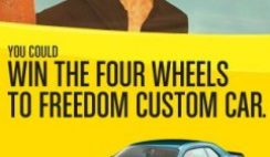 Pennzoil's Four Wheels to Freedom Sweepstakes