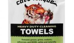 Free Cat's Tongue Heavy Duty Cleaning Towel Sample