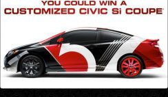 2013 Honda Civic Tour with Maroon 5 Sweepstakes