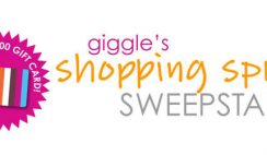 Giggle's Shopping Spree Sweepstakes