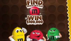 M&M's Find the Black Ms Sweepstakes