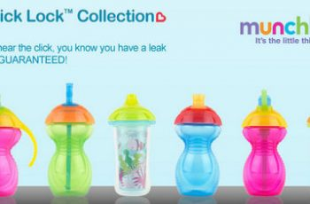 Free Munchkin Click Lock Cups on Monday