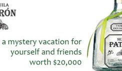 Patron Social Club's Best Weekend Ever Sweepstakes