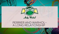 Perrier's Take Home a Warhol Sweepstakes