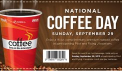 Free Coffee on National Coffee Day