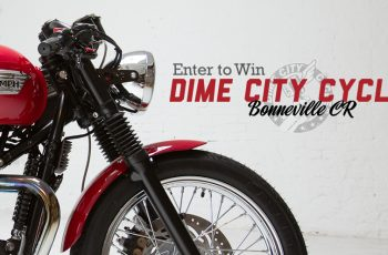 Dime City Cycles & Triumph Motorcycles' Triumph Giveaway