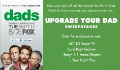 TV Guide's Upgrade Your Dad Sweepstakes