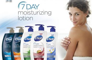 Dial's 7-Day Moisturizing Lotion Sample Giveaway